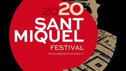 SanMiquel Festival Logo NERO